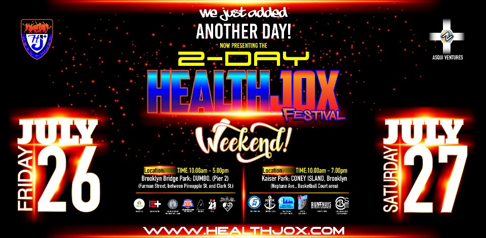 HealthJox Festival 2-Day Weekend - 2019